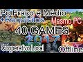 Top 40 Games MULTIPLAYER LOCAL (2017)/OFFLINE/CO-OP/PC FRACO E MÉDIO