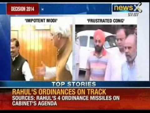 Salman Khurshid mocks 'Impotent' Modi
