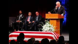 John McCain remembered as a fighter for American ideals