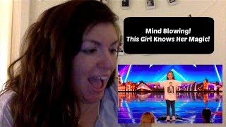 Britain's Got Talent 2017-Issy Simpson Audition Week 2|| Reaction By Tess