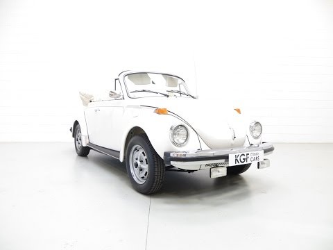 A Wonderful 1979 VW Beetle Convertible with Full UK History - SOLD!