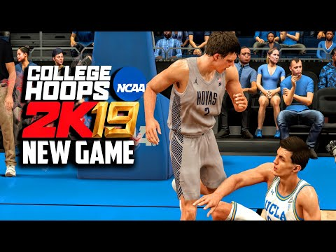 NCAA BASKETBALL VIDEO GAME 2019 (Gameplay Preview!) Mac McClung Vs Shareef O'Neal!