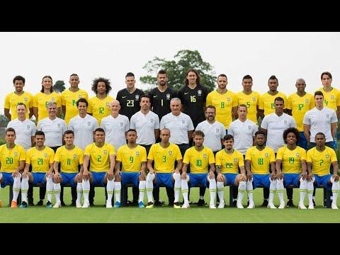 Foto Oficial de Brasil Listo para el Mundial Rusia 2018