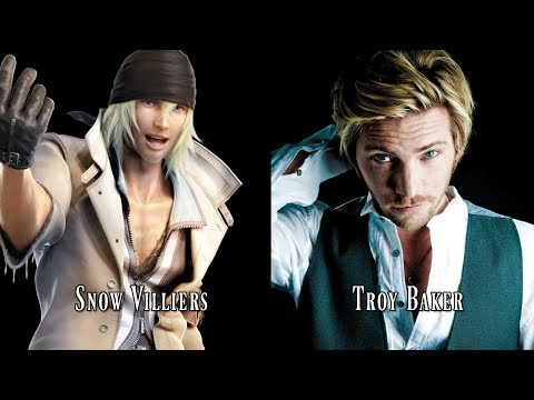 Characters and Voice Actors  Final tasy XIII FF13