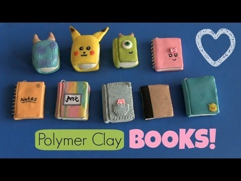 book-&-notebook-charms---back-to-school---polymer-clay-charm---how-to-|-socraftastic