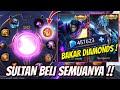 SULTAN BAKAR BAKAR DIAMONDS DEMI DAPATIN SKIN LEGEND ! HABISIN SEMUA DIAMONDS