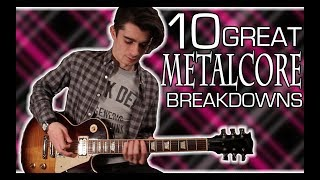 10 Great Scene Kid xD Metalcore Breakdowns :3 oWoo w/ Tabs