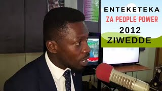 BOBI WINE ATOTODE ENTEKATEKA ZA PEOPLE POWER MU 2021