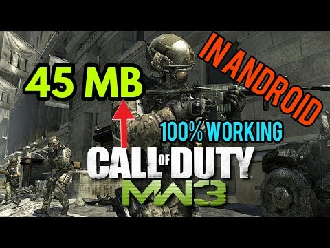 [45MB] How To Download Call Of Duty Modern Warfare 3 On Android?