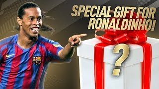 433 SURPRISES RONALDINHO With A Gift + Difficult Dilemma