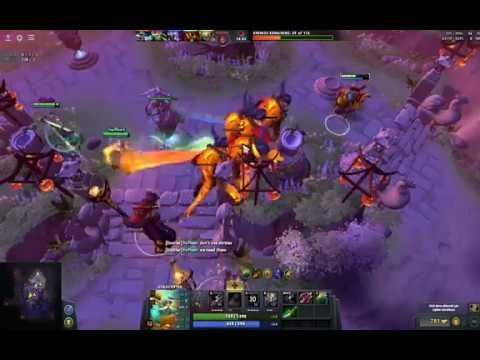 Dota 2 -- Dark Moon - Kara Ay - Legend Game Come Back -Hard Carry (FaceLeSS MaN play Gyrocopter)