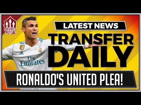 RONALDO To MANCHESTER UNITED Latest! Manchester United Transfer News