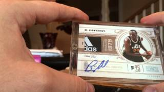 6 NEW CORNERSTONES TO THE BIG AL PC.LOGOMANS, 1/1 TAGS AND LARRY BIRD!!!!!!