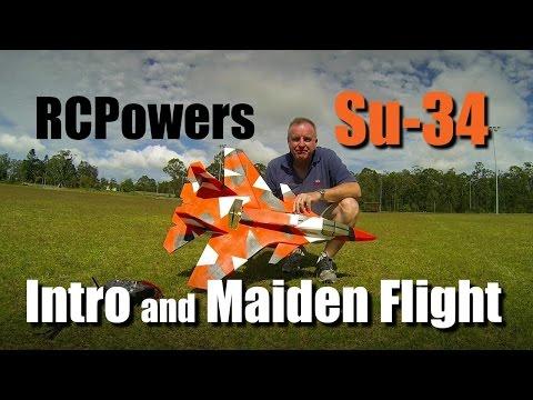 RCPowers Su-34 Intro