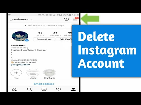 How to Delete Instagram Account Permanently (2019)