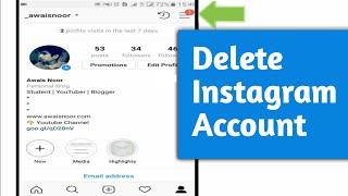 How to Delete Instagram Account 2018