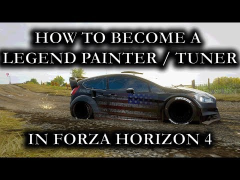 """Forza Horizon 4 """"How To Become A Legend Painter Or Tuner In Less Then 1 Month"""" thumbnail"""