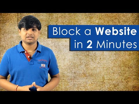 How to Block a Website in all Web Browsers from YouTube · Duration:  2 minutes 18 seconds