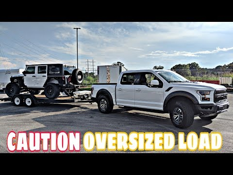 Can The 2018 Raptor Tow Our Massive Jeep?