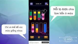 Review game Sort Water Puzzle (Rót nước - Trò chơi phân loại màu) screenshot 4