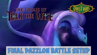 The Quest Kids: The Trials of Tolk the Wise - Quest 5 Dazzlon Battle
