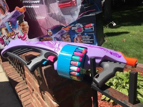 "Honest Review: The Nerf Rebelle Fearless Fire (Semi-Auto ""Rebellicade"")"