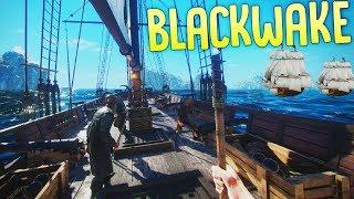 Blackwake - Piracy on the High Seas! - Naval Combat Simulator - Blackwake Gameplay