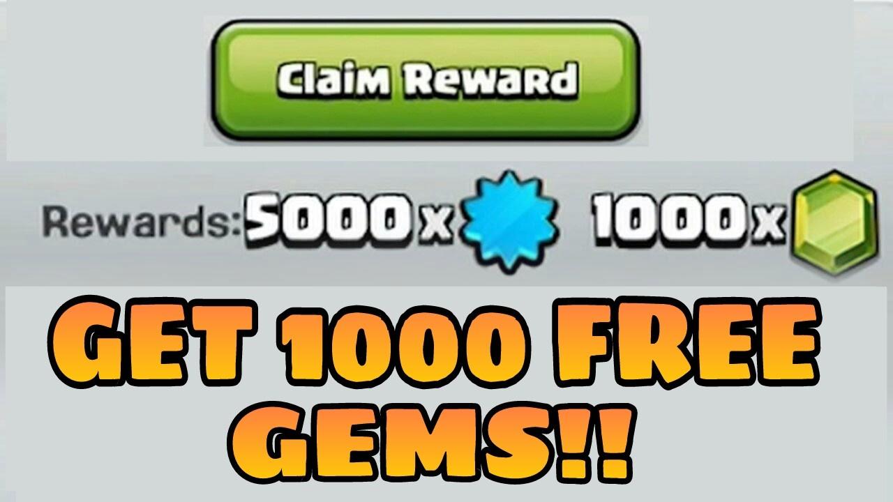 free gems 2017 clash of clans