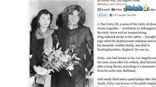 J. Paul Getty III Dies