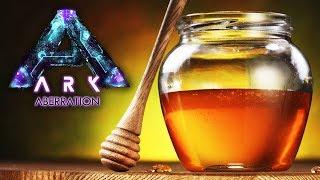 ARK ABERRATION #34  - Vamos fazer uma FÁBRICA de mel, aventura com os DRAGÕES