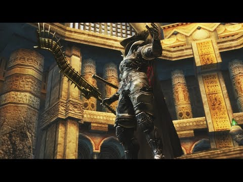 Final Fantasy XII HD Remaster: Judge Bergan Boss Fight (1080p)