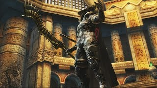 Final Fantasy XII HD Remaster: Judge Bergan Boss Fight (1080p)