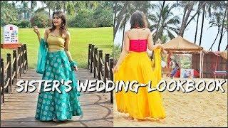 Sister's Wedding- LOOKBOOK | GOA | Shirin Talwar