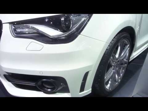 Audi a1 s line gen ve 2010 salon de l 39 auto youtube - Salon de l auto geneve ...