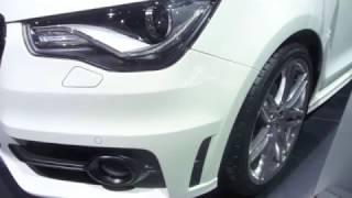 Audi A1 S-line Genève 2010 Salon de L'auto