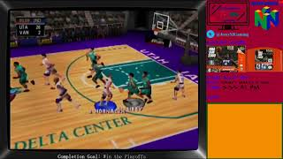 NBA Jam 2000 : Game 35 of 296 Nintendo 64 Games Completed Live!