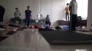 challenged yoga 20150704(シャバアーサナ)
