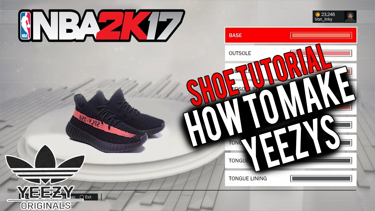 NBA 2K17 Shoe Creator ⋆#NBA2K17⋆ How To Make Yeezys! Yeezys Are Finally  Here!  updates</a> &middot; submit lyrics</a> </div> <span class=