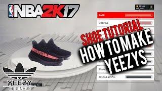 nba 2k17 shoe creator nba2k17 how to make yeezys yeezys are finally here