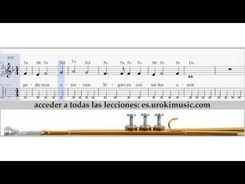 Como Tocar en la Trompeta Titanic My Heart Will Go On - Notas para la Trompeta - Tablatura tutorial
