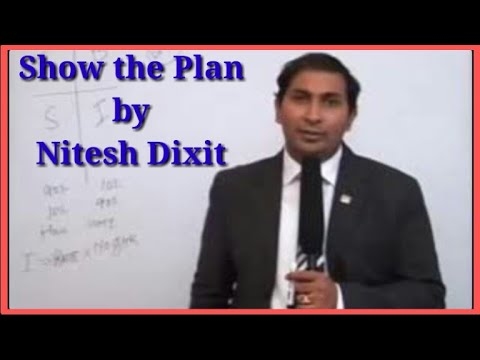 Show the Plan by Nitesh Dixit