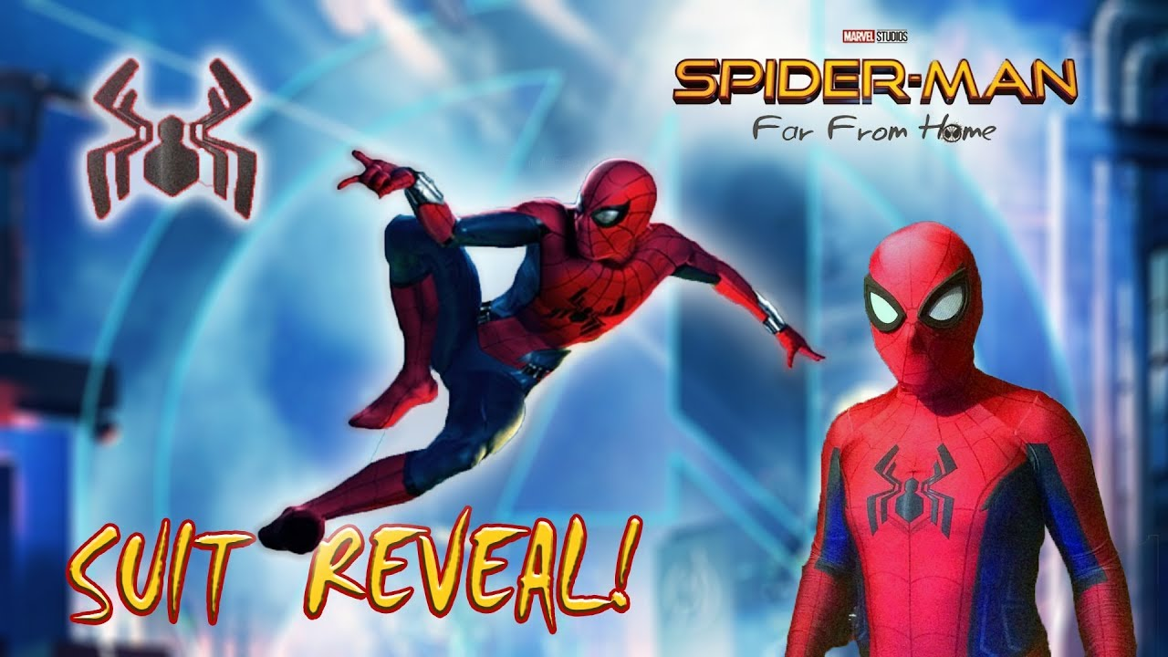 spider man: far from home suit reveal?! - youtube