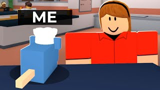 ROBLOX COOKING But I'M A RAT CHEF.. (Flying Rats)