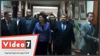 بالفيديو.. نائبة رئيس الوزراء الصينى تتفقد معامل المركز القومى للبحوث