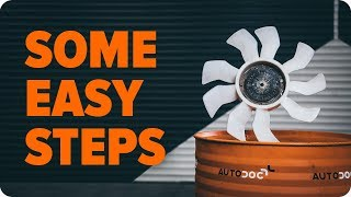 VW TOUAREG online video on DIY maintenance - How to check the engine cooling fan | AUTODOC tips