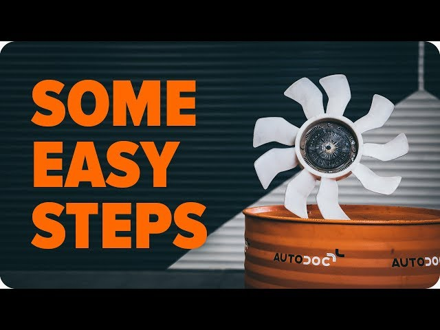 How to check the engine cooling fan | AUTODOC tips