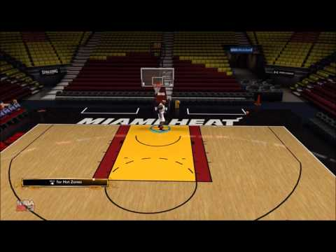 NBA 2K13 - How To Spin Dunk