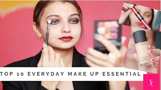 TOP 10 Make-up Essentials | Must Haves |Day 9 l Tejaswi