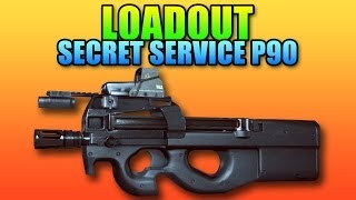 Battlefield 4 - Loadout: P90 Secret Service!