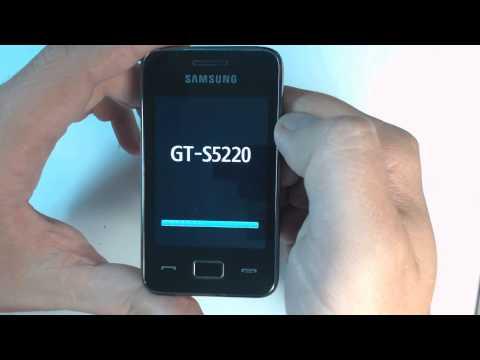 Samsung Star 3 S5220 factory reset